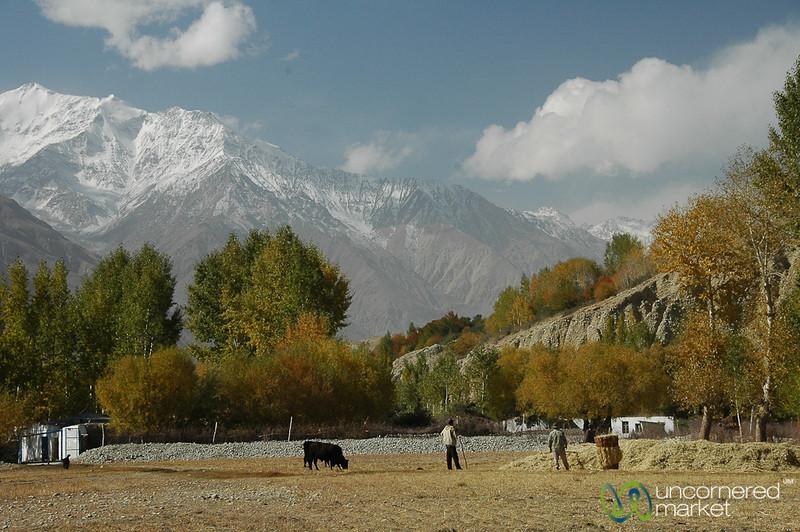 Farmers Preparing for Winter - Wakhan Valley, Tajikistan