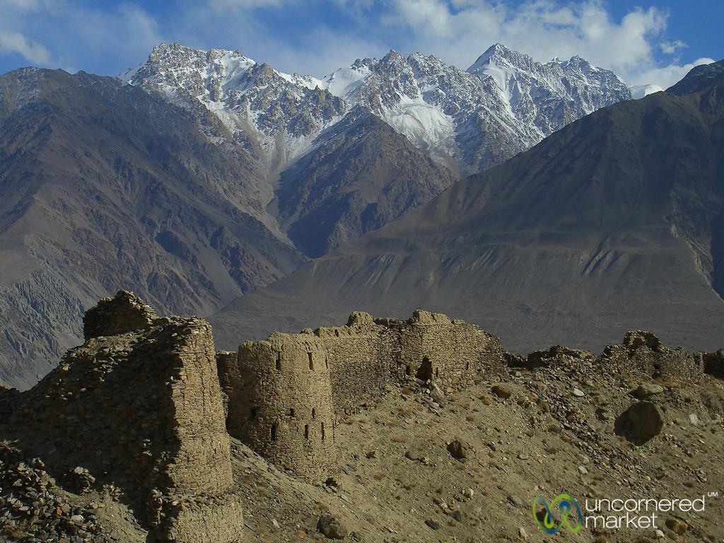 Yamchun Fort  - Pamir Mountains, Tajikistan