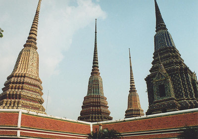 At Wat Pho, Bangkok