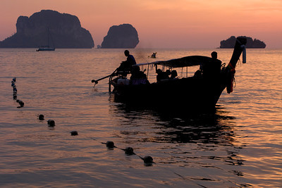 Phra Nang at sunset