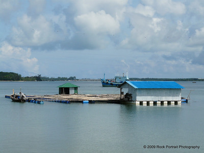 Another part of the fish farm
