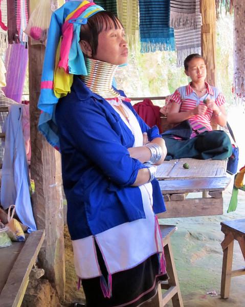 The Kayan are a subgroup of the Red Karen (Karenni) people, a Tibeto-Burman ethnic minority of Burma