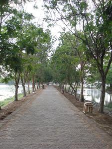 Bueng Phra Ram, Ayuthaya - Thailand.