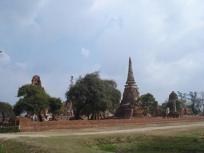 Wat Mahathat, Ayuthaya - Thailand.
