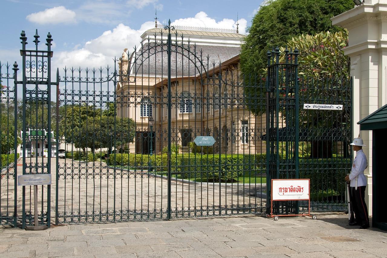 Grande Palace gate in Bangkok, Thailand