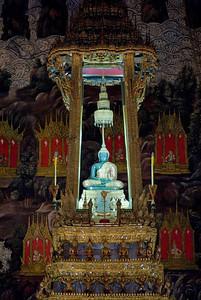 Emerald Buddha inside Wat Phra Kaew  - Bangkok, Thailand