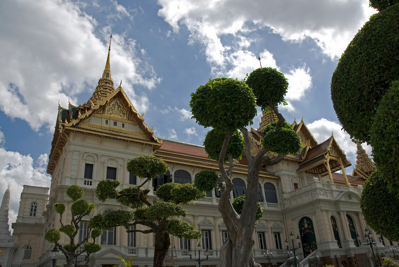 Thai Royal Palace Complex in Bangkok, Thailand