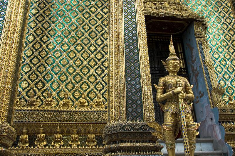 Miniature statues at Wat Phra Kaew - Bangkok, Thailand