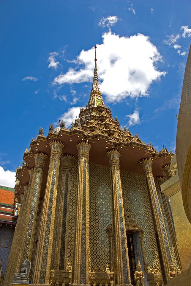 Tal pagoda inside Wat Phra Kaew - Bangkok, Thailand