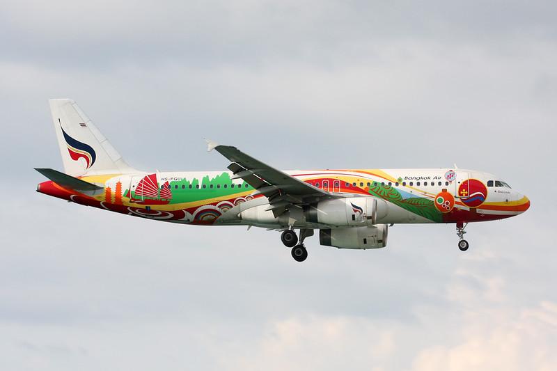 "HS-PGU Airbus A320-232 c/n 2254 Phuket/VTSP/HKT 25-11-16 ""Guilin"""