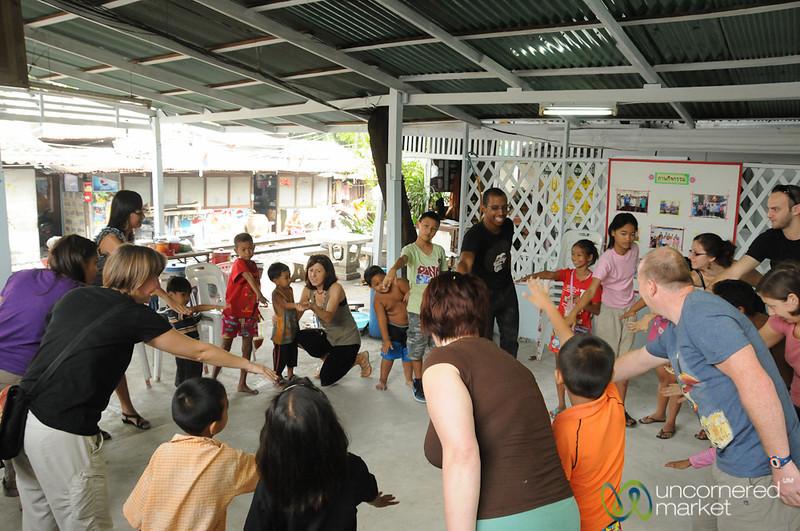 Some Kids Games are Universal - Yommarat, Bangkok
