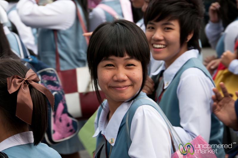 Surprised Smile - Bangkok, Thailand
