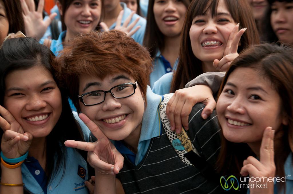 More Peace Sign Fun - Bangkok, Thailand