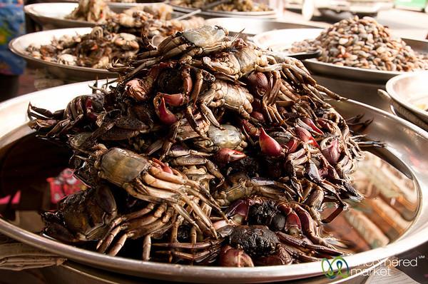 Piles of Crabs - Bangkok, Thailand