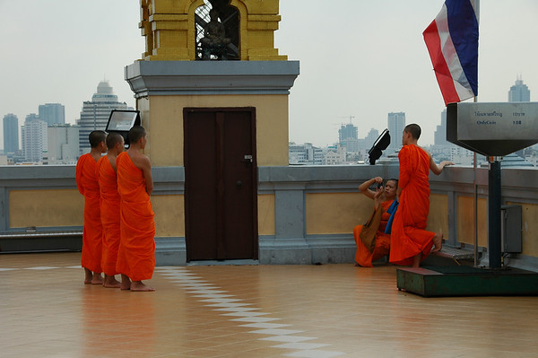 Monks - Bangkok, Thailand