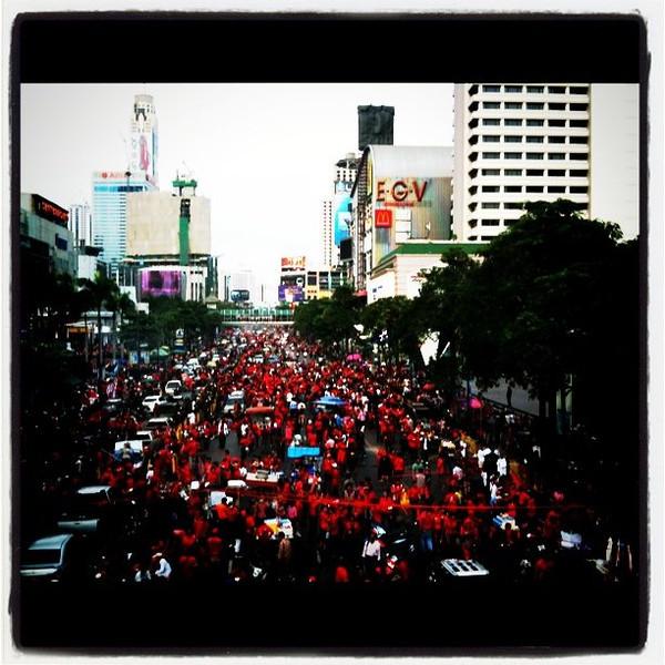 Bangkok red shirt friday