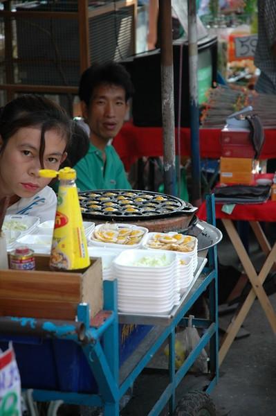 Poached Quail Eggs - Bangkok, Thailand