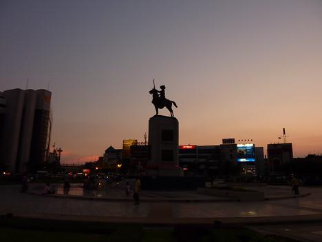 King Taksin Statue, Bangkok - Thailand