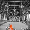 Lovely life scene at Wat Arun.