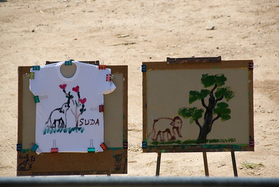 Elephant Paintings in Chiang Mai, Thailand