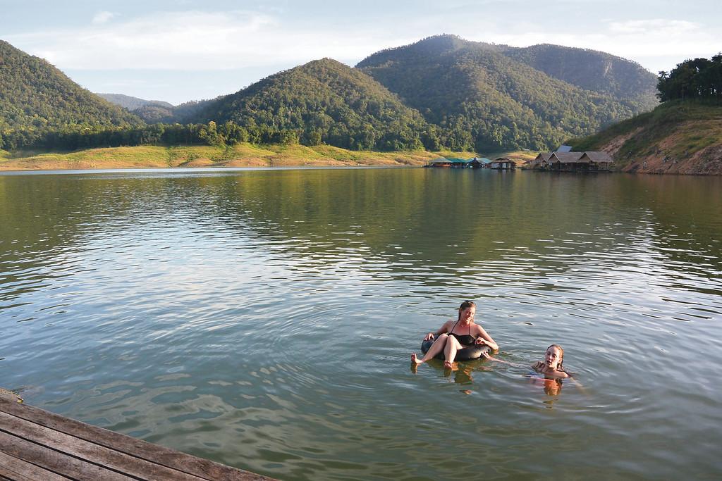 Mae Ngat Reservoir. September 2015