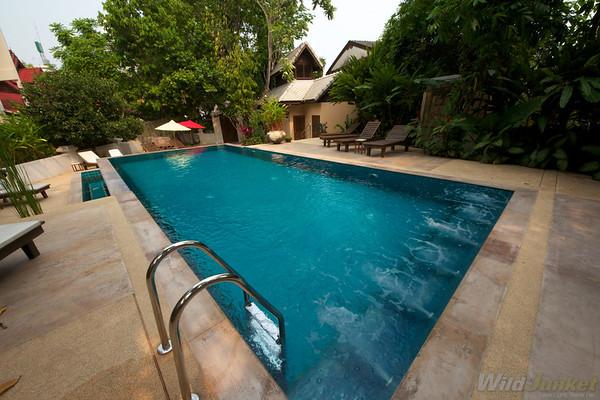 Swimming pool at Chang Puak Hotel