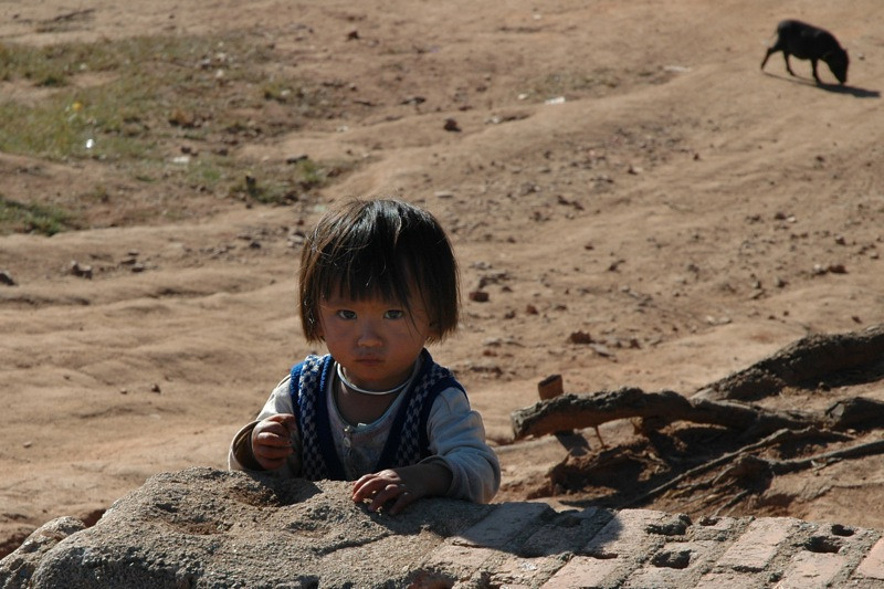Hmong Girl - Chiang Mai, Thailand