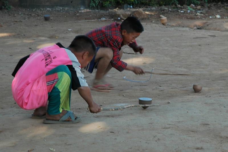Playing Tops - Chiang Mai, Thailand