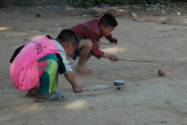 Playing Tops - Chiang Mai, Thailand