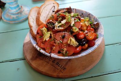 Warm Chorizo & Tomato Salad