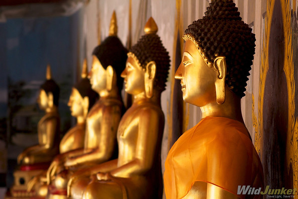 Buddha statues in Doi Suthep