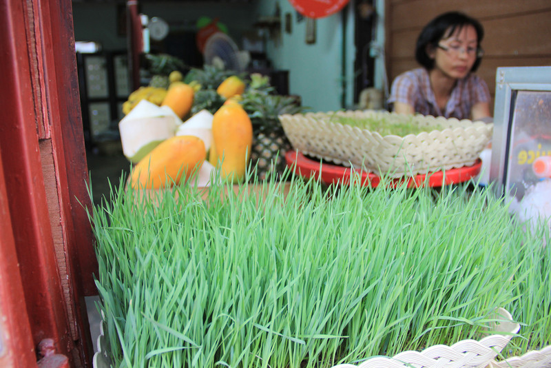 Amazing juice shop in Chaing Mai