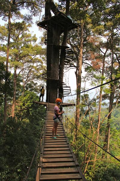 Zipplinning Chiang Mai
