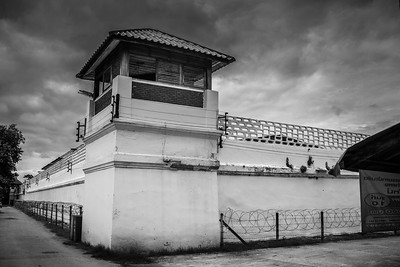 Artistic capture around Chiang Mai women's prison.