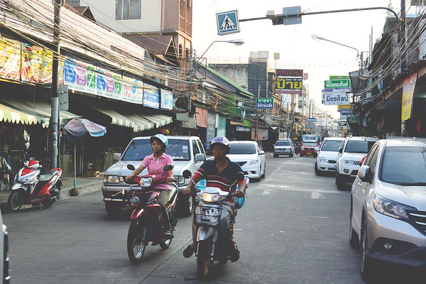 Streets of Chonburi. November 2014