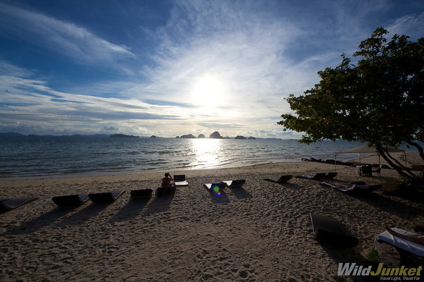 Perfect Beach at Amari Vogue Krabi