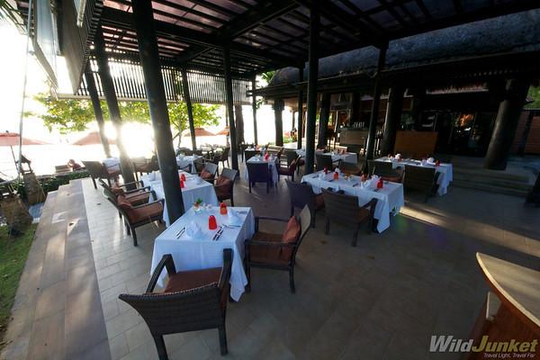 Al Fresco Restaurant at Amari Resort Krabi