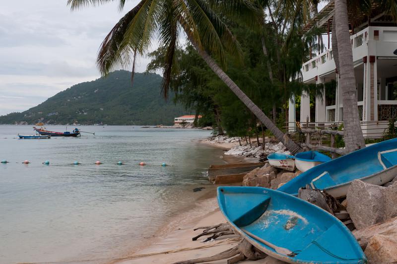 Scene from the seashore at Ko Samui, Thailand