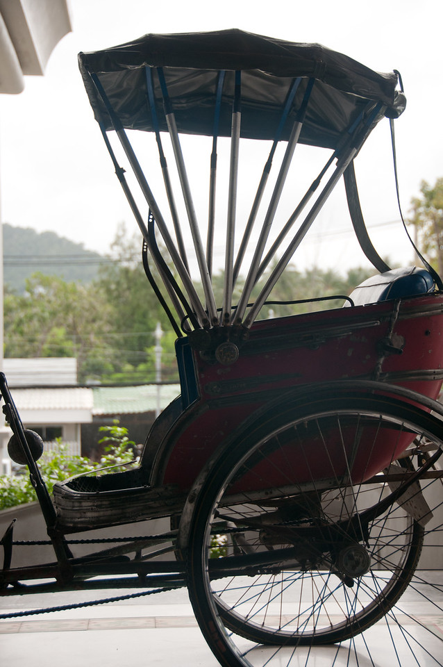 Vintage carriage spotted in Ko Samui, Thailand