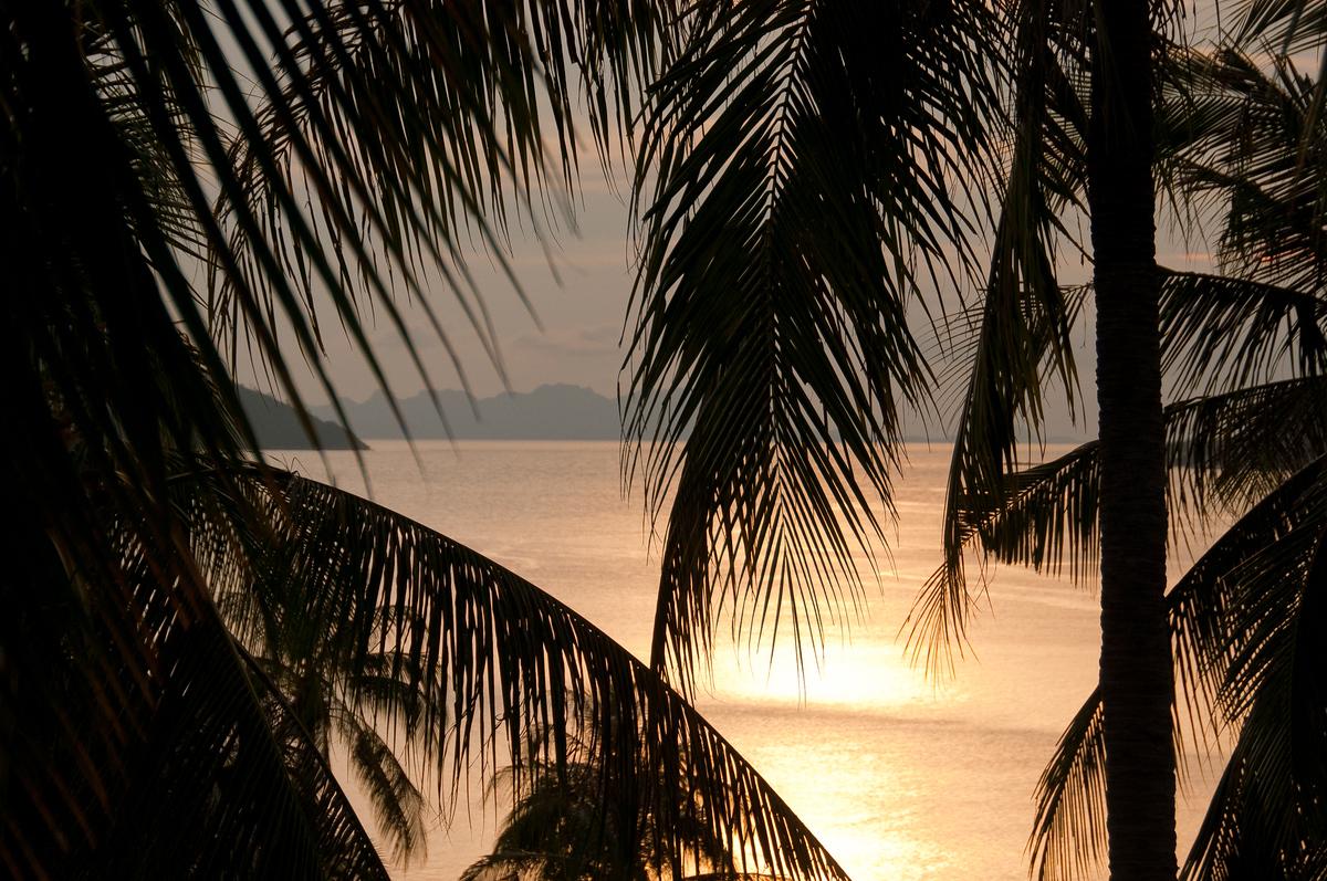 Sunset on Ko Samui, Thailand