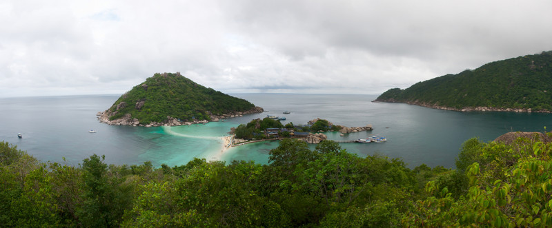 Panoramic view of the island at Ko Samui, Thailand