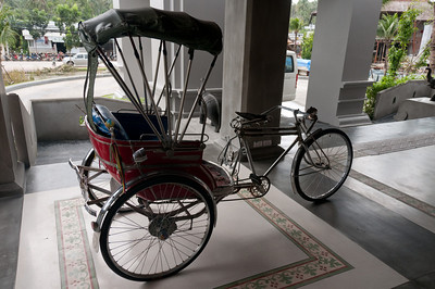 Manual carriage spotted in Ko Samui, Thailand