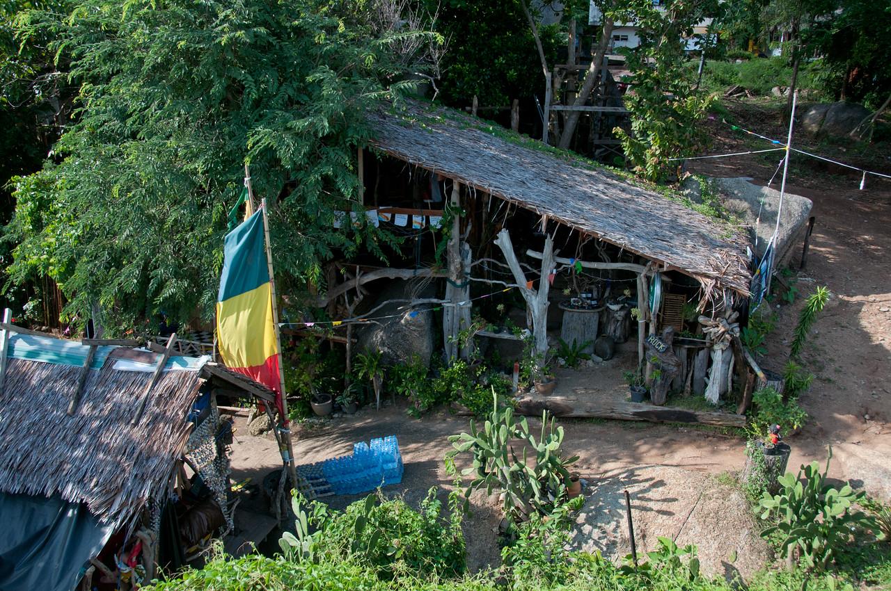 Nipa hut in Ko Samui, Thailand