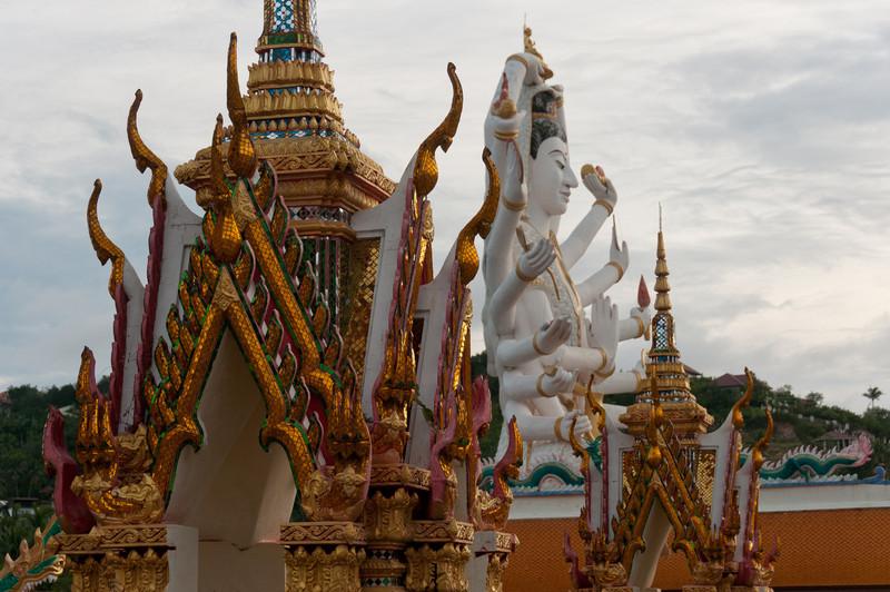 Hindu architecture at Ko Samui, Thailand