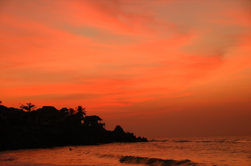 Sunset at the Beach - Haad Yao, Thailand