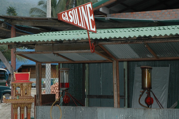 Gasoline for Sale - Kho Pha Ngan, Thailand