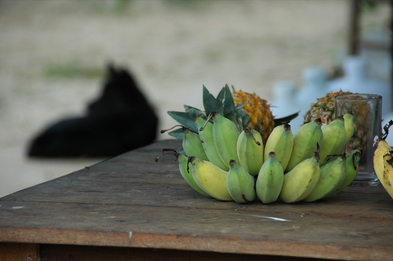 Bananas and Pineapples - Koh Pha Ngan, Thailand