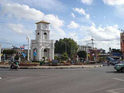 Surin Circle, Phuket Town, Koh Phuket - Thailand.
