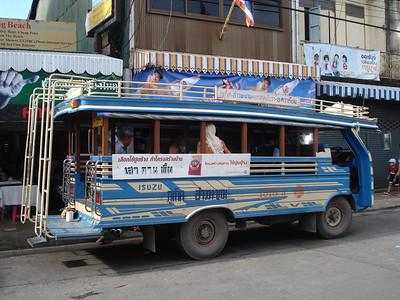 Songthaew (public bus), Koh Phuket - Thailand.