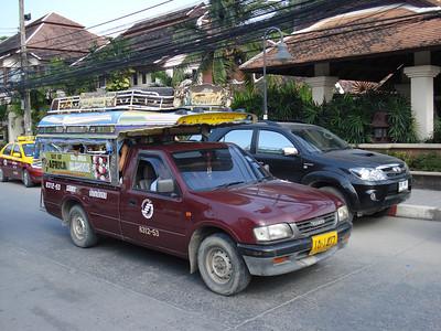Sawngthaew, Chaweng Beach, Koh Samui - Thailand.